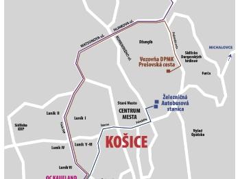 Košice Luník IX. - parkoviská