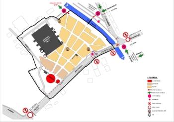Prešov - Mapa Parkovania